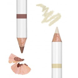 Lily Lolo - Eyebrow Duo Pencil light swatch