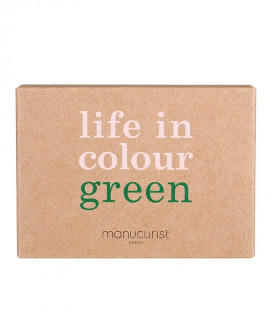 Manucurist Paris Coffret Violeta - Vernis naturels GREEN made in France