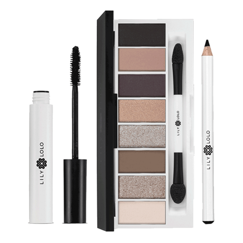 LILY LOLO maquillage minéral YEUX Coffret Iconic Eye palette Pedal To the Metal Mascara naturel crayon noir beauté sensible
