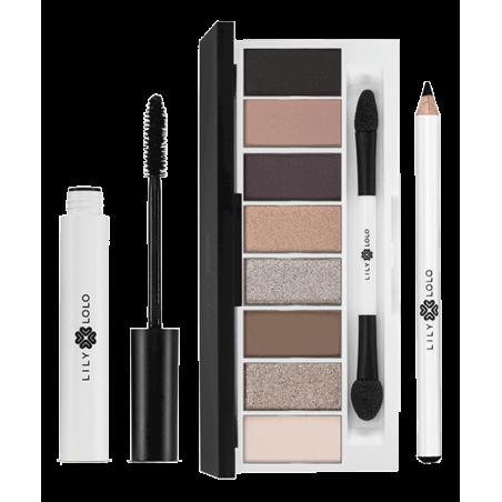 LILY LOLO maquillage minéral YEUX Coffret Iconic Eye palette Pedal To the Metal Mascara naturel crayon noir beauté sensible