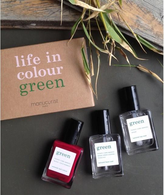 Manucurist Paris Coffret Green Violeta - Vernis à Ongles naturels made in France