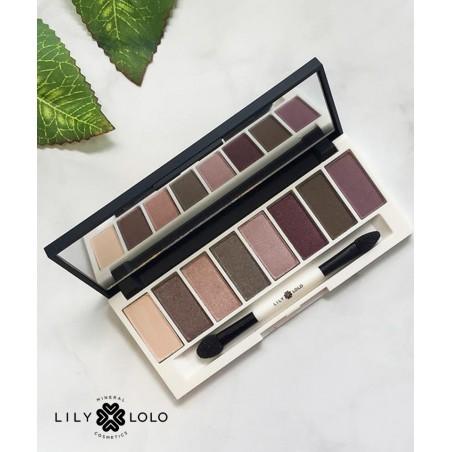 Lily Lolo maquillage minéral Palette Yeux Stellar regard naturel végétal cosmétique beauté bio green boitier miroir lilas