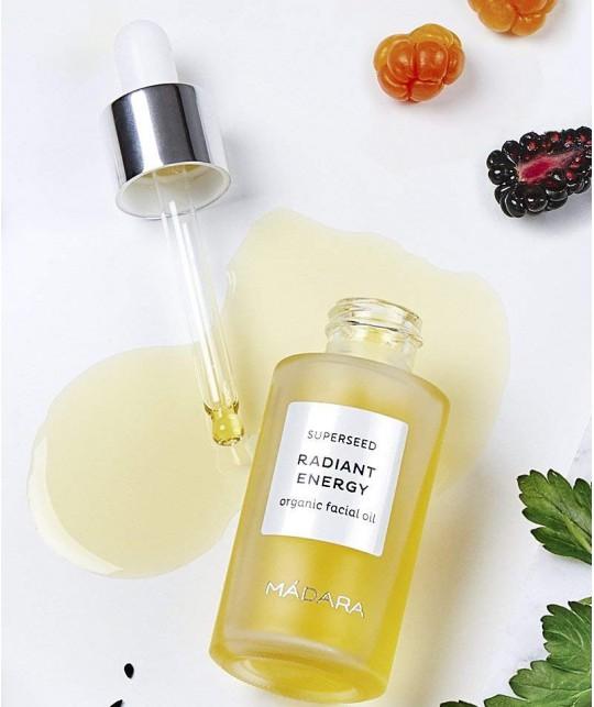 Madara SUPERSEED Radiant Energy organic Facial Oil natural cosmetics