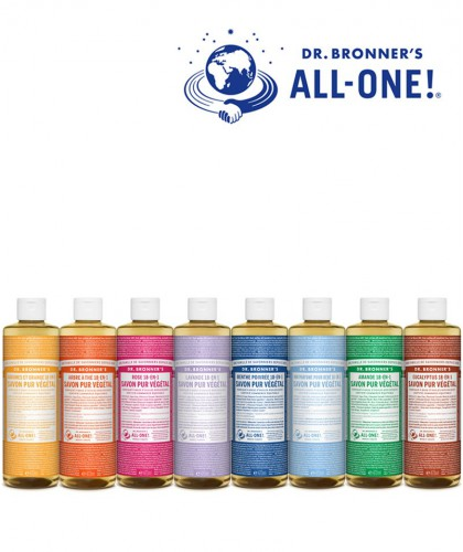 Dr. Bronner's - Organic Liquid Soap Lavender 475ml - 16 oz. Magic Soap All One
