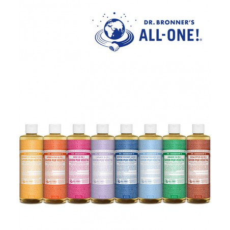 Dr. Bronner's - Organic Liquid Soap Lavender 475ml - 16 oz. Magic Soap All One