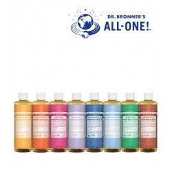 Dr. Bronner's  - Savon Liquide bio Pur Végétal 18en1 beauté bio cosmétique naturel green