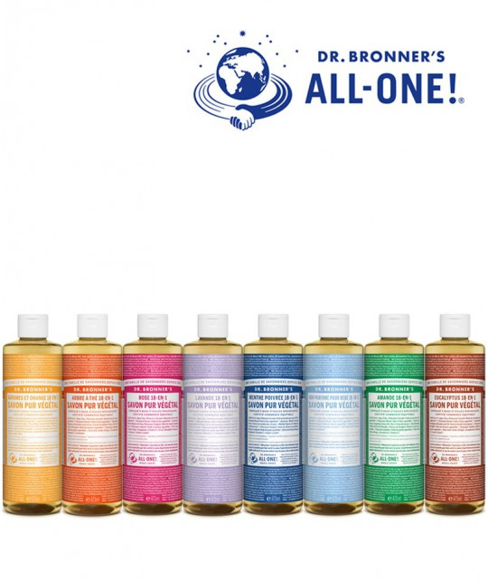 Dr. Bronner Organic Liquid Soap Baby Mild 475ml - 16 oz.