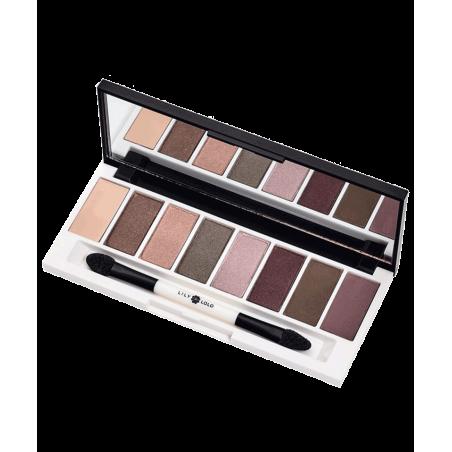 LILY LOLO maquillage minéral Palette Yeux Stellar violet lilas rose délicat mat irisé ombre à paupières végétal Paris