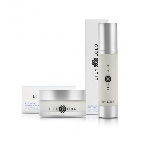 Lily Lolo Coffret cadeau Collection Soin Visage bio Crème Jour Nuit peau normale
