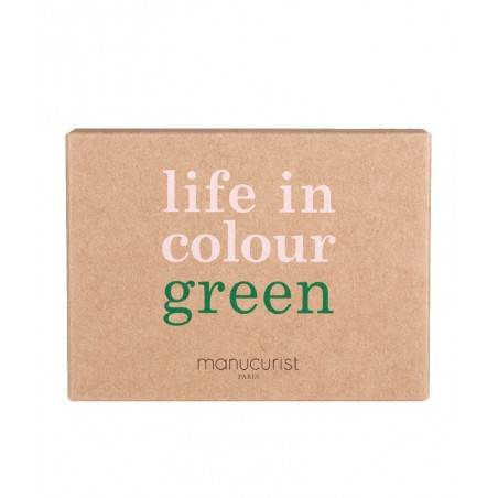 Manucurist Paris Coffret Noël Holidays Collection  Vernis à Ongles non-toxiques GREEN beauté vegan