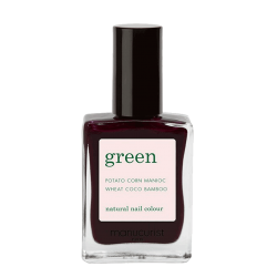 Manucurist Paris Vernis naturel Green Hollyhock Noël vegan