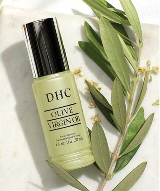 DHC Huile d'Olive serum cosmétique végétale rituel beauté japonais sans parfum sans colorant 100% naturel green antioxydants