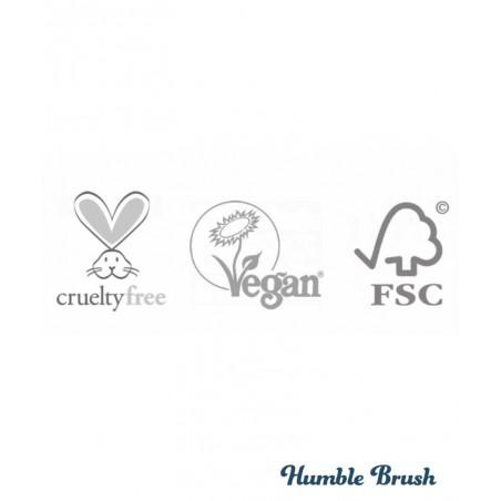Etui en Bambou pour Brosse à Dents Humble Brush vegan cruelty free certifications France