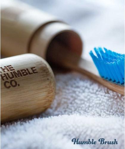 Etui voyage en Bambou pour Brosse à Dents Humble Brush vegan cruelty free