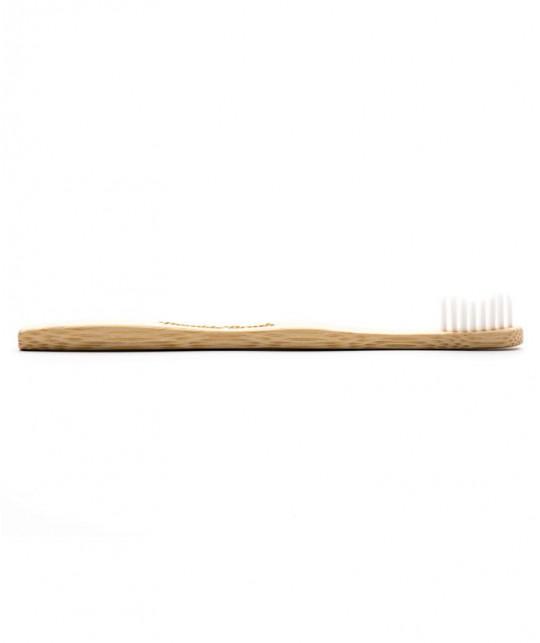 Humble Brush Brosse à Dents en Bambou Enfant - poils en nylon ultra souple Vegan ergonomique