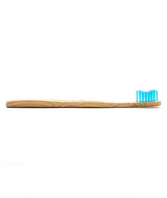 Humble Brush Kids - blue Toothbrush Bambou recyclable ultrasoft nylon bristles