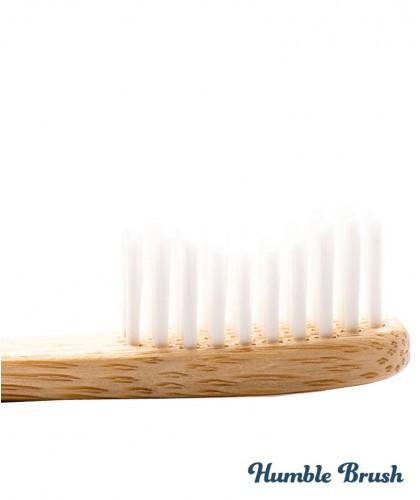 Brosse à Dents en Bambou Humble Brush écologique poils souples Vegan Cruelty free design suédois