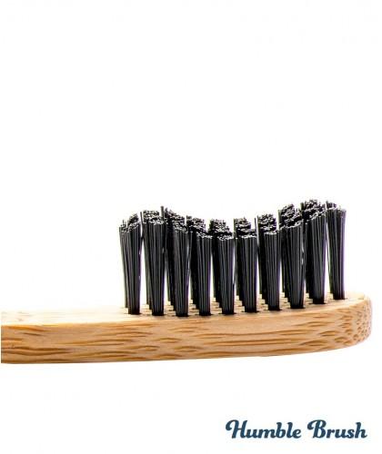 Humble Brush Bambus Zahnbürste Weiche Borsten Vegan cruelty free kompostierbar schwarz