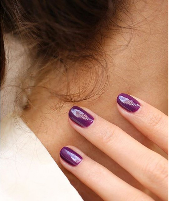 Manucurist Vernis GREEN Purple Spinel naturel violet mauve vegan made in France