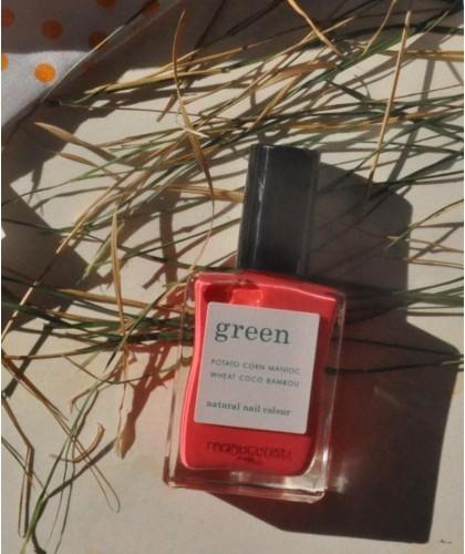 MANUCURIST GREEN - Azalea Vernis naturel rose pétillant