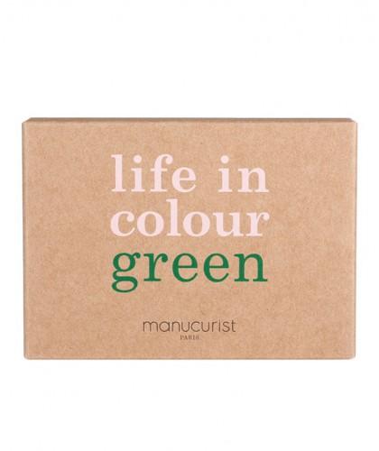 Manucurist GREEN Box Green Three Steps Hortencia Nagellack