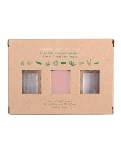 Manucurist GREEN Nail Polish Box Green Three Steps Hortencia