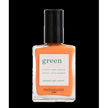 MANUCURIST Vernis Green Cosmos orange seventies vegan cruelty free