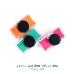 MANUCURIST Vernis Green Coffret Spring Summer 2019 couleurs été Cosmos Petula Green Garden