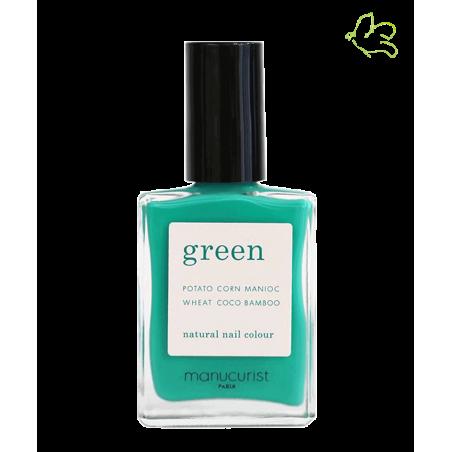 MANUCURIST Vernis Green Green Garden vert menthe été vegan