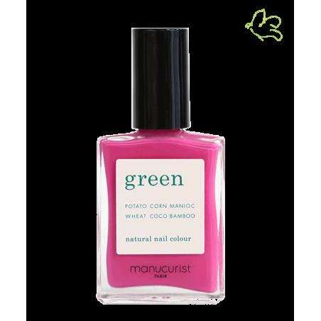 Manucurist Green Nail Polish Petula neon pink bright vegan