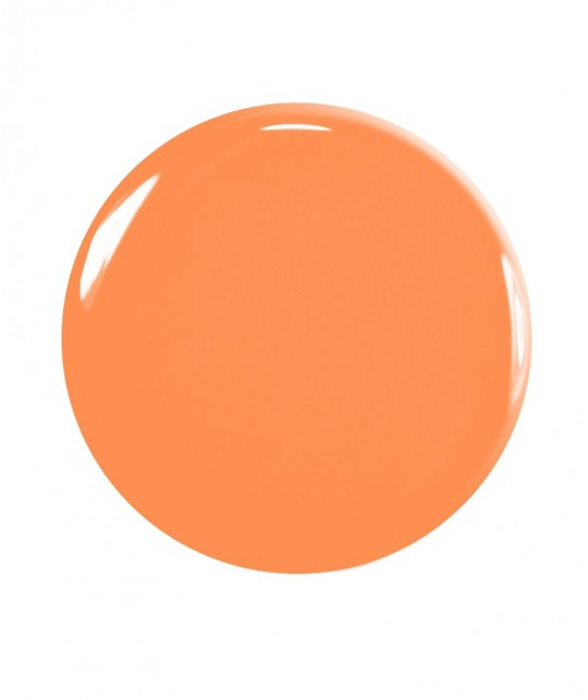 Manucurist Vernis à Ongles GREEN Cosmos orange Printemps été naturel swatch vegan