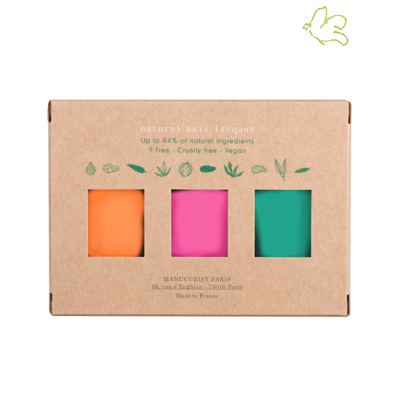 Manucurist Box Spring Summer 2019 Green Garden Nail Polish GREEN