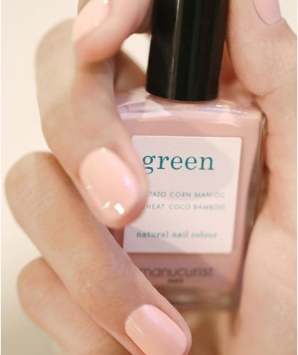 Manucurist  GREEN Bare Skin natural Nail Polish nude vegan swatch