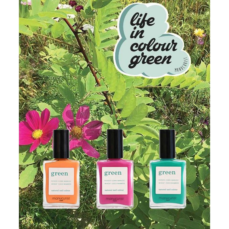 Manucurist Green Garden spring summer colors Natural Nail Polish