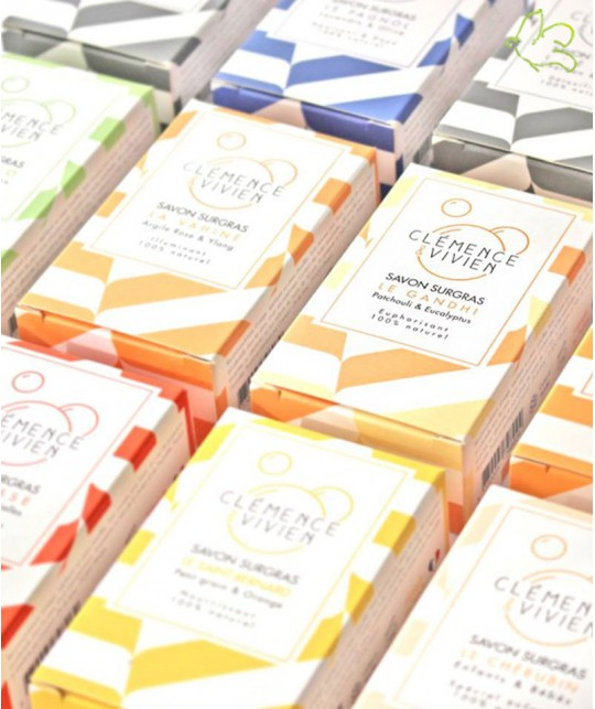 Clémence & Vivien - handmade moisturizing soap organic natural cosmetics made in France