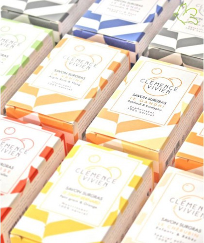Clémence & Vivien - handgefertigte rückfettende Naturseife Bio Made in France Slow cosmétique Naturseife vegan