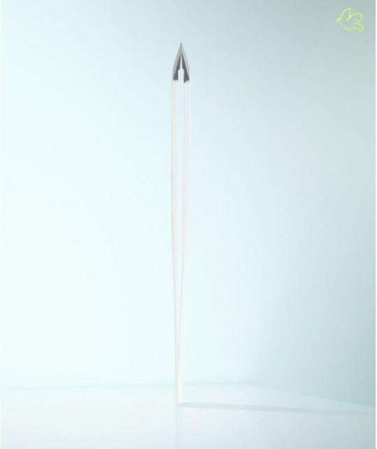 RUBIS Switzerland Pince à Épiler Classic mors biais - Blanc Sourcils Beauté
