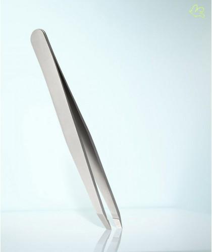 RUBIS Switzerland Tweezers Classic Slanted tips - Steel eyebrows beauty cosmetics design
