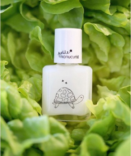 Kid Safe Top Coat BRIGITTE the Tortoise Petite Manucurist  non toxic nail polish water based