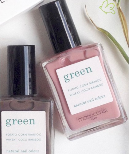 Manucurist Paris - Nagellack GREEN Old Rose Öko Rosa vegan Naturkosmetik