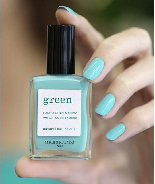 Manucurist Nail Polish GREEN Seagreen swatch