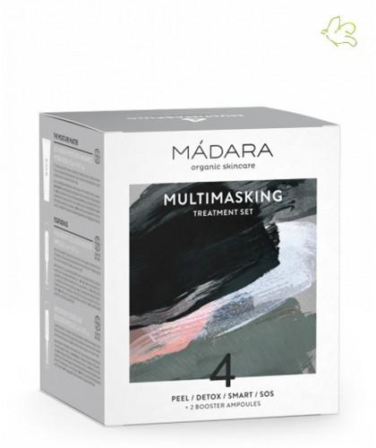 Madara cosmétique bio Coffret Beauté Multimasking 4 Masques Visage bio