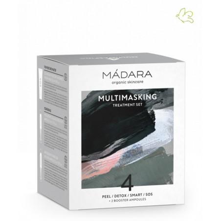 Madara cosmetics Multitasking Treatment Set 4 Gesichtsmasken Naturkosmetik