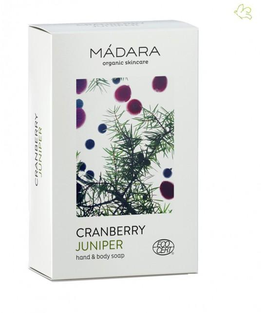 MADARA cosmetics Cranberry & Juniper Hand & Body Soap organic skincare