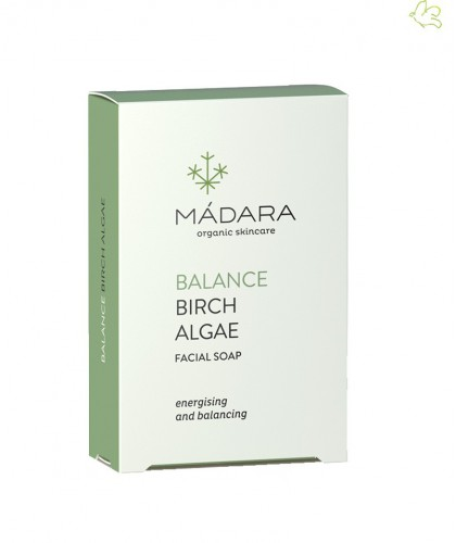 MADARA Birch & Algae Balancing Face Soap