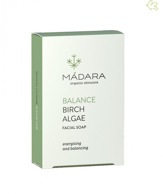 MADARA cosmetics Birch & Algae Balancing Face Soap Gesichtsseife