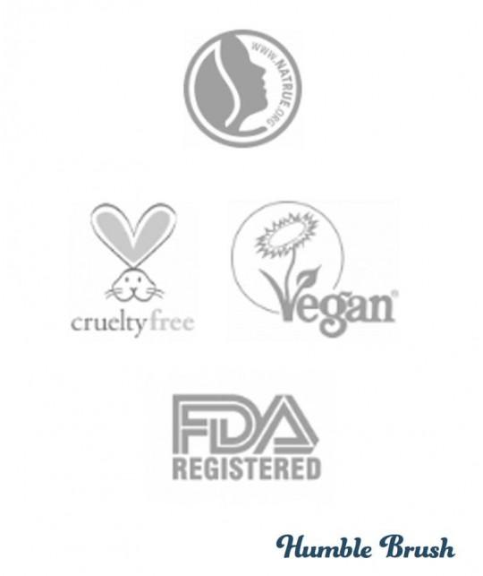 Humble Brush Natural Toothpaste Kokosnuss und Salz Zahnpasta Frische Minze Fluor Zertifizierungen Vegan