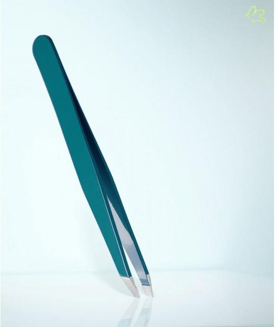 RUBIS Switzerland Pince à Épiler Classic mors biais - Vert épicéa sourcils beauté cosmétique