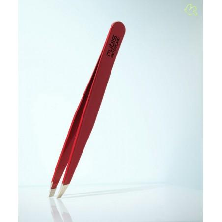 RUBIS Switzerland Pince à Épiler Classique mors biais sourcils beauté - Rouge cosmétiques professionnel