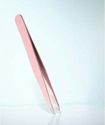 RUBIS Switzerland Tweezers Classic Slanted tips - Pink beauty eyebrows cosmetics